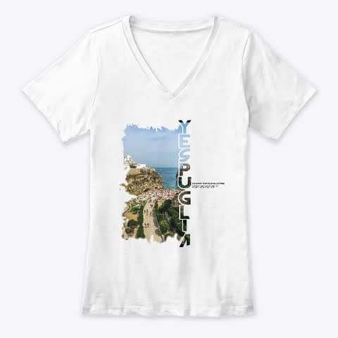 4 Exclusive collection YesPuglia Tshirt Polignano a Mare