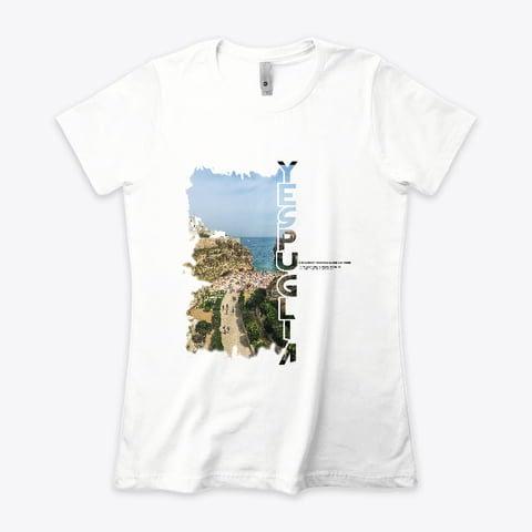 5 Exclusive collection YesPuglia Tshirt Polignano a Mare