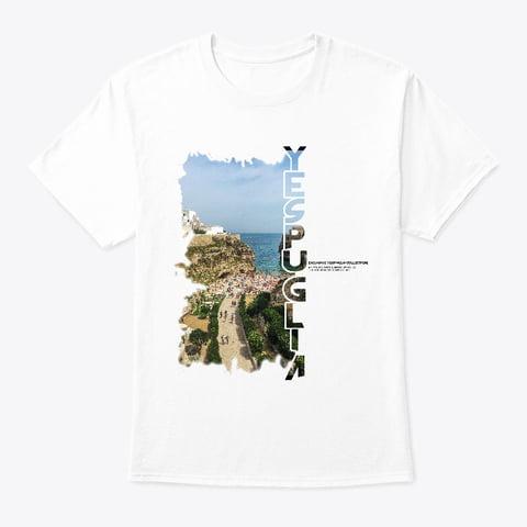 8 Exclusive collection YesPuglia Tshirt Polignano a Mare