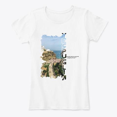 Exclusive collection YesPuglia Tshirt Polignano a Mare