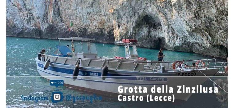 Grotta della Zinzilusa - Castro Marina Lecce - Facebook Yespuglia.com Enoteca Online