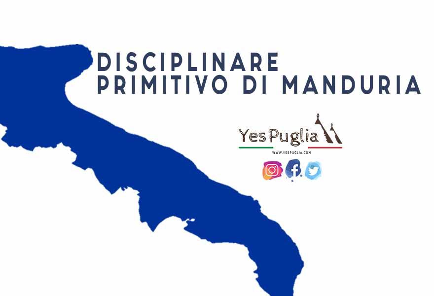Disciplinare Primitivo di Manduria vino brindisi doc yespuglia.com enoteca online più innovativa di puglia
